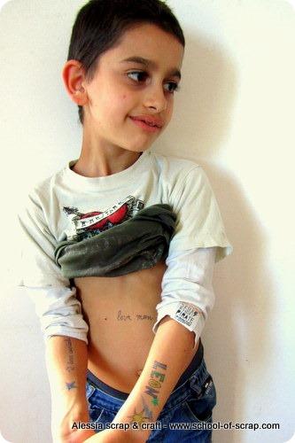 Giochi con i bambini: Gel Tattoo Pens