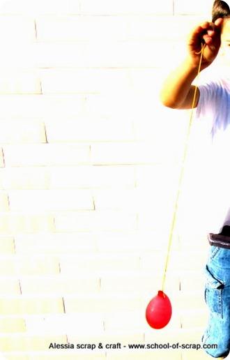 Giochi d'estate: lo yo-yo con i palloncini