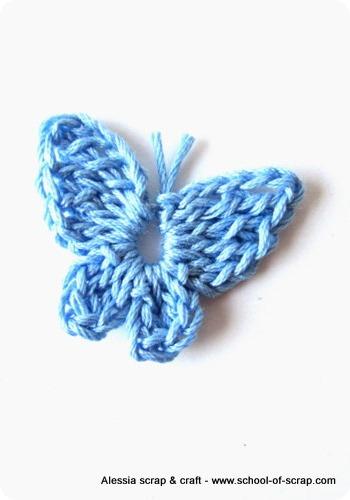 Scuola Di Uncinetto Farfalline A Crochet Per Lestate Alessia