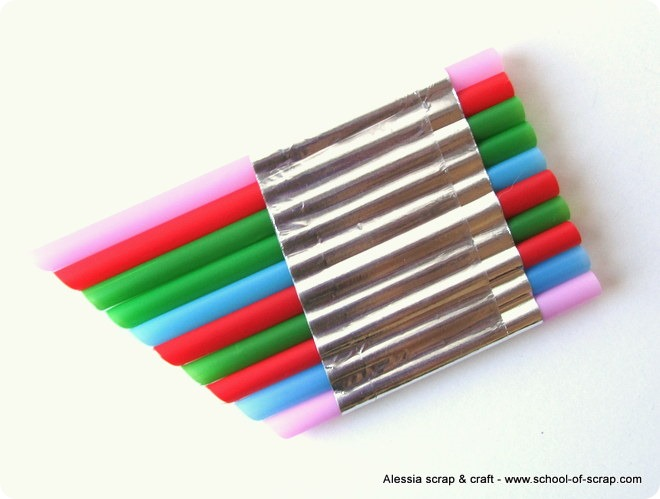 Giochi per l'estate: flauto di Pan faidate