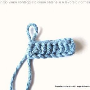 Scuola di Uncinetto: il nodo d'inizio è una catenella oppure no?