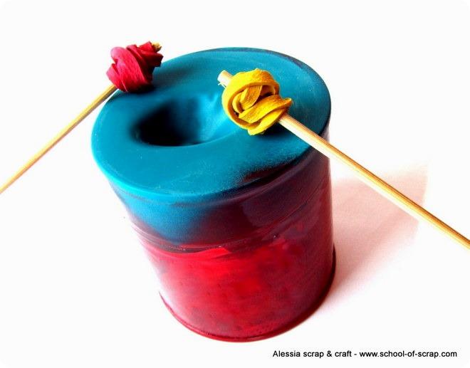 Giochi per l'estate: tamburo faidate con le lattine