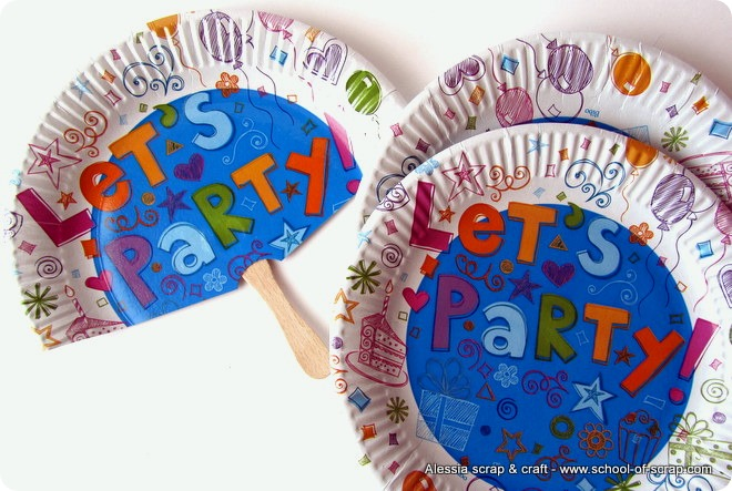 Feste d'estate: ventagli faidate per gli invitati al party