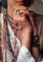 Tutorial Vintage: tante collane e anelli  di fiori di perline