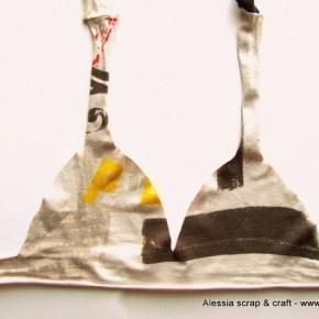 Come creare un bikini con una vecchia maglietta, senza cucire
