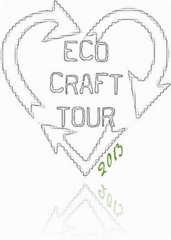 ECO CRAFT TOUR luglio 2013: idee per riciclare carta di riviste e giornali