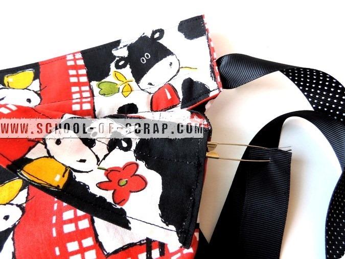 Scuola di Uncinetto: tutorial sacca di stoffa backpack fatta a zainetto