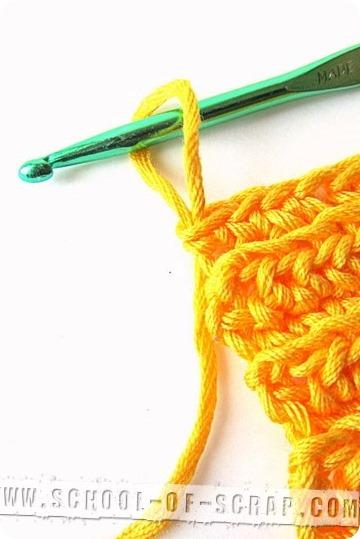 Scuola di uncinetto: come chiudere il punto e nascondere i fili