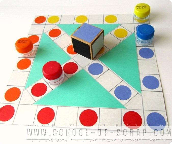 Giochi fai da te chinesenspiel il gioco dei cinesi alessia scrap craft - Gioco da tavolo passa la bomba ...