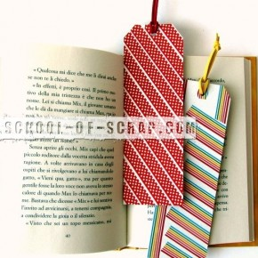 Washi Tape Bookmark: segnalibri con i nastri colorati