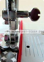 Scuola di Cucito: cucire le cerniere con il piedino universale è facile