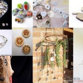 ECO CRAFT TOUR Settembre 2013: idee per riciclare i materiali naturali