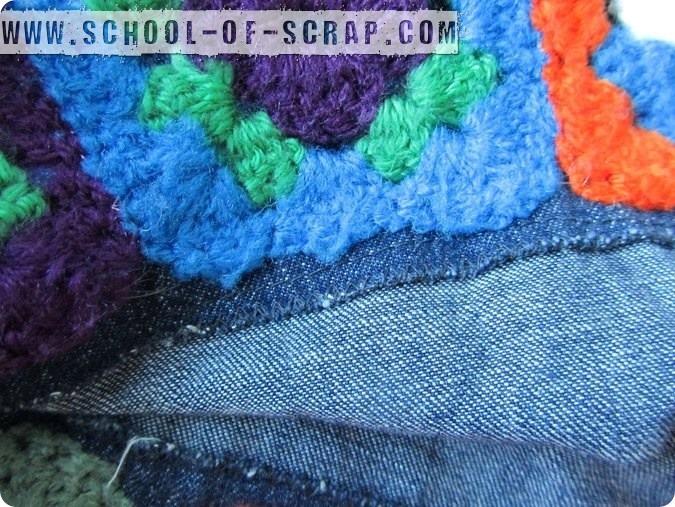 Scuola di Uncinetto e Cucito: come rimodernare una gonnellina con le granny square