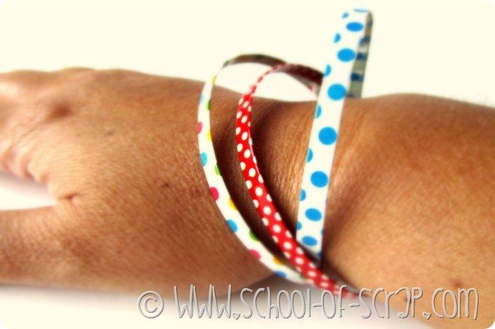 Idee da #5minuti: braccialetti con i Washi Tape