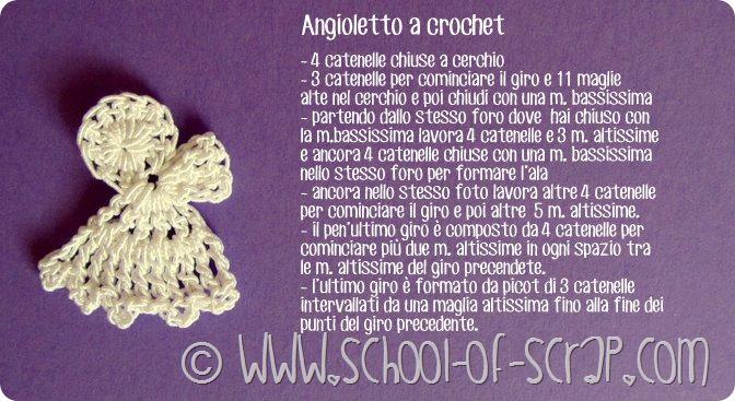 Scuola di Uncinetto: facciamo insieme un angioletto