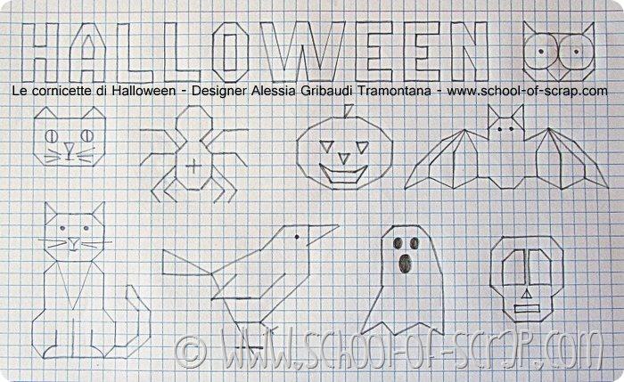 Lavoretti con i bambini: le cornicette di Halloween