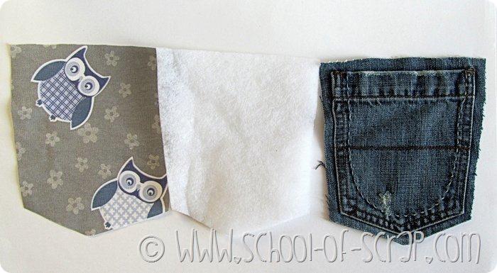 Eco Craft Tour: la tasca dei jeans diventa una presina