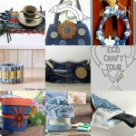 ECO CRAFT TOUR ottobre 2013: idee per riciclare i jeans
