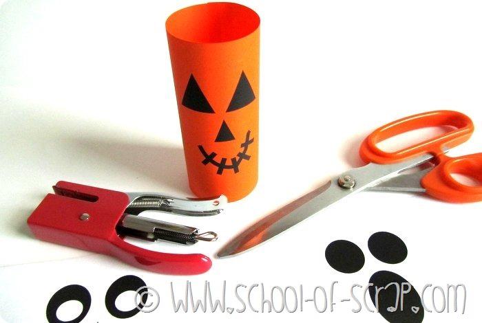 Halloween porta caramelle da stampare e costruire (2)