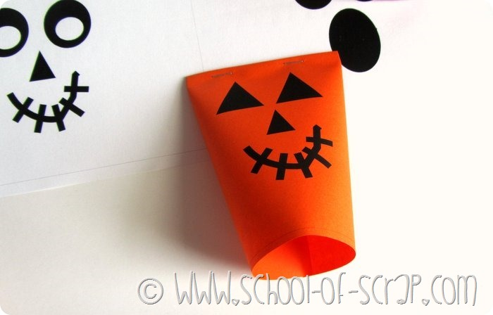Halloween porta caramelle da stampare e costruire (5)
