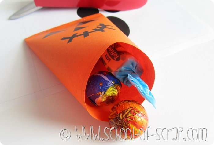 Halloween porta caramelle da stampare e costruire (6)