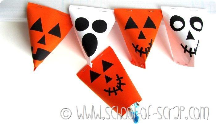 Halloween porta caramelle da stampare e costruire (7)