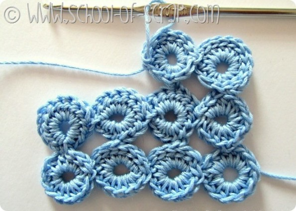 Scuola di Uncinetto: tutorial del Punto Bolla (Bubble Stitch)