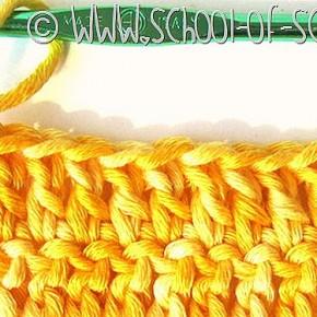 Scuola di Uncinetto: tutti i trucchi della maglia alta su Mammafelice