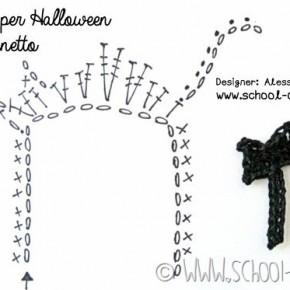 Scuola di uncinetto: facciamo insieme il gatto nero di Halloween