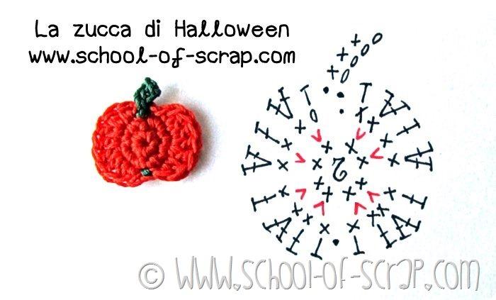 Scuola di uncinetto: facciamo insieme la zucca di Halloween