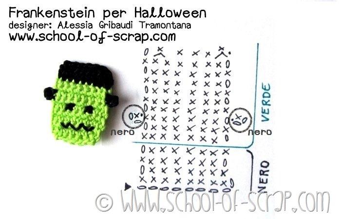 Scuola di uncinetto: facciamo insieme Frankenstein per Halloween