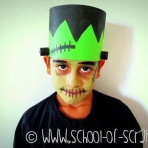 Halloween con i bambini: Costume da Frankenstein fatto in 5 minuti