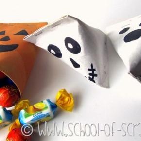 Halloween con i bambini: porta caramelle per Dolcetto o Scherzetto