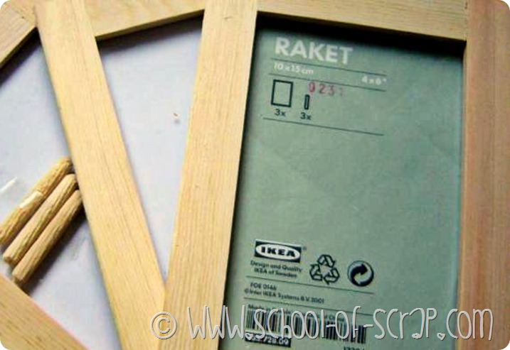 IKEA Hackers: porta orecchini in 5 minuti con le cornici Raket