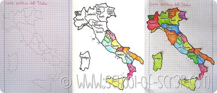Scuola Primaria: impariamo le regioni d'Italia