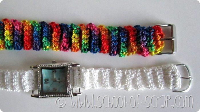 Regali fai da te: impreziosire gli orologi con il cinturino a crochet