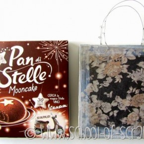 Pacchetti e regali: fare buste decorate con scatole delle merendine