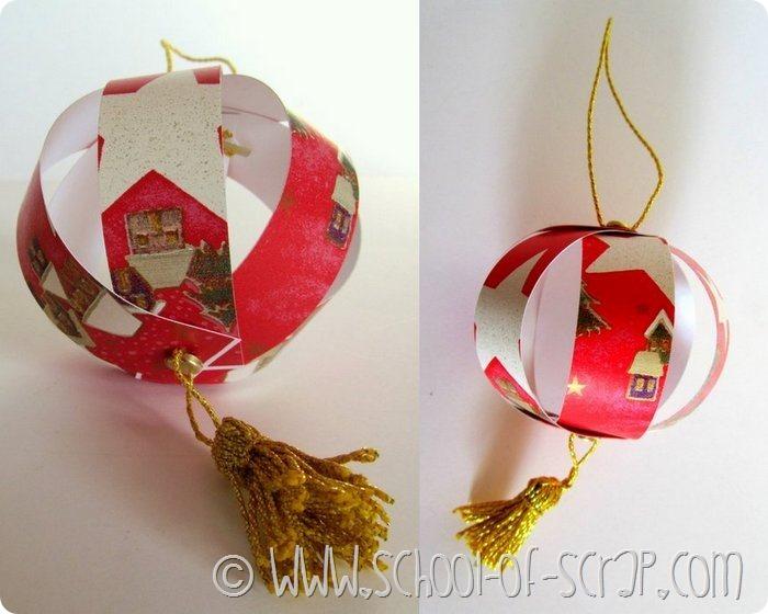 Lavoretti Di Natale Come Farli.Decorazioni Di Natale Come Fare Palline Per L Albero Con