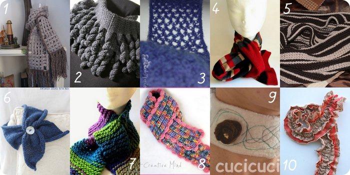 10 progetti per fare sciarpe belle e fai da te, Raccolta di Idee