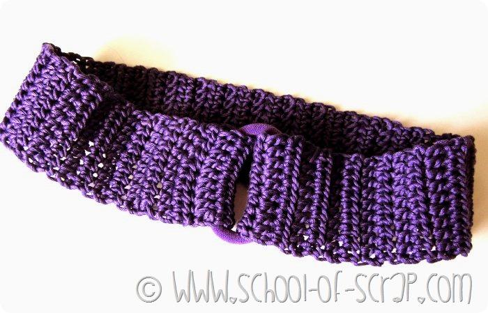 Scuola di Uncinetto: come fare una fascia per i capelli elastica