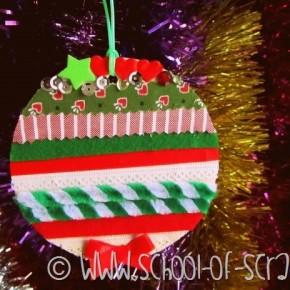 #giocaimmaginacrea Swap di Natale di Mammafelice, la mia pallina