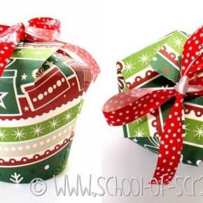 Natale fai da te: come fare una confezione regalo con un bicchiere di carta
