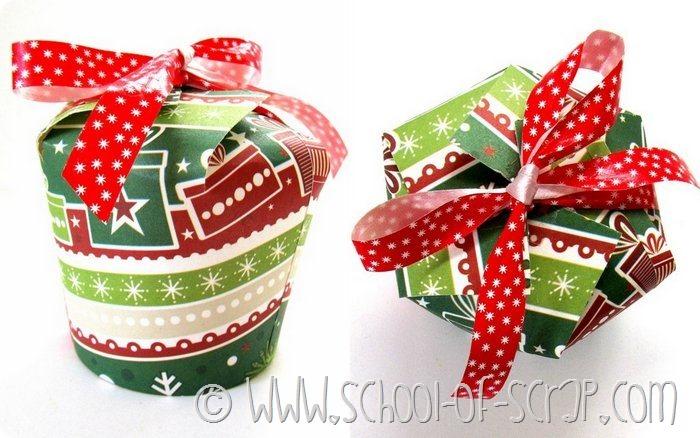Favorito Natale fai da te: come fare una confezione regalo con un bicchiere  KF64