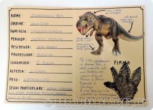Scuola primaria: come fare la carta d'identità dei dinosauri