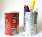 Washi tape: porta penne sbrilluccicante in #5minuti