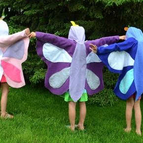 Carnevale: come cucire un vestito da farfalla in pannolenci