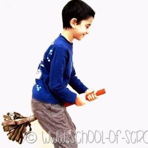 Arriva la Befana: facciamo la scopa a grandezza naturale
