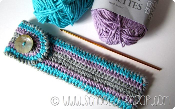 Scuola di Uncinetto: tutorial per fare un astuccio a crochet