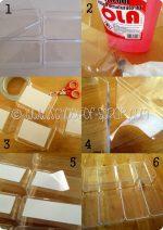 Riciclo creativo: costruire bacheca fai da te con le scatole dei cioccolatini