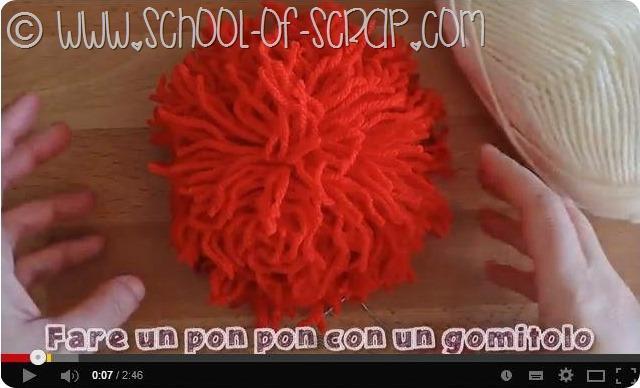 Idee da 5 minuti: come fare un pon pon con un gomitolo